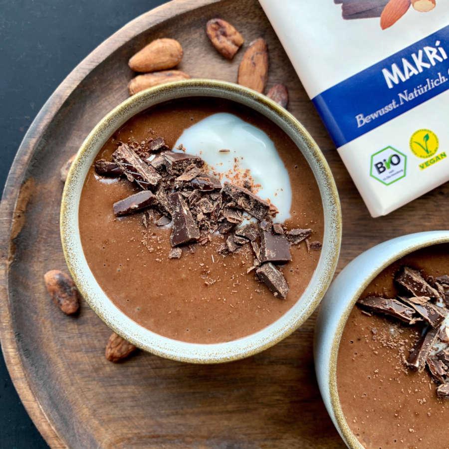 Rezept: Veganer Schokoladenpudding