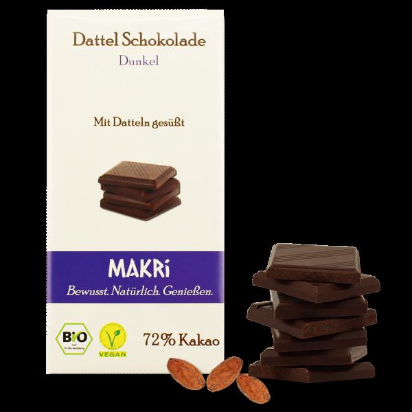 MAKRi Date Chocolate - Dark 72%