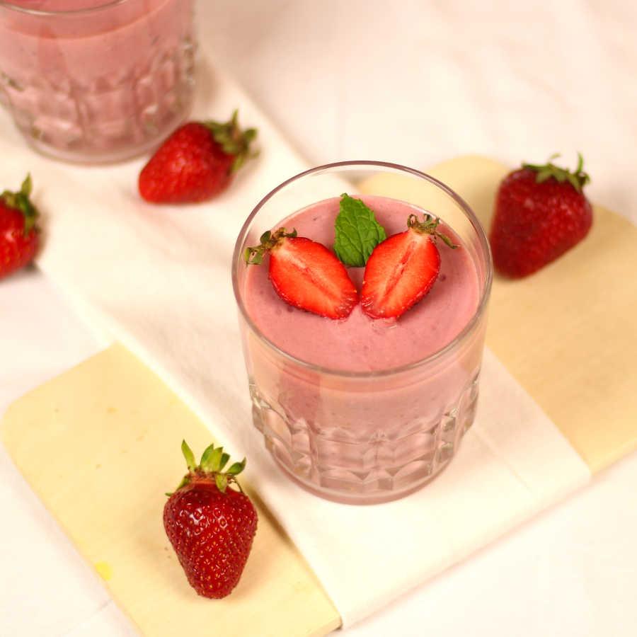 Rezept: Erdbeercreme