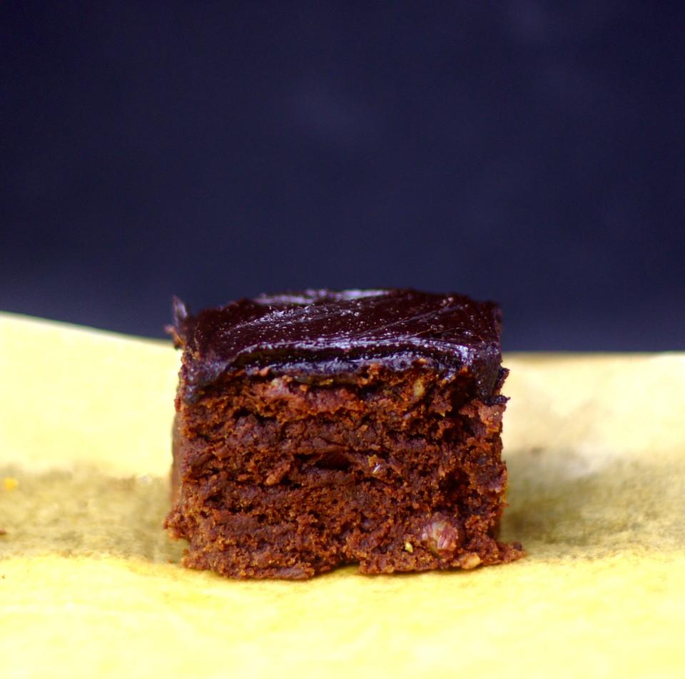 Rezept: Dattel-Bananen-Brownies