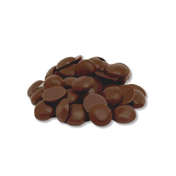 MAKRi chocolate drops - cathedral. Rep. 59% - 1kg bulk